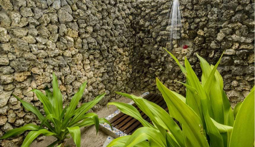 Ibo Island 002 Outside Shower