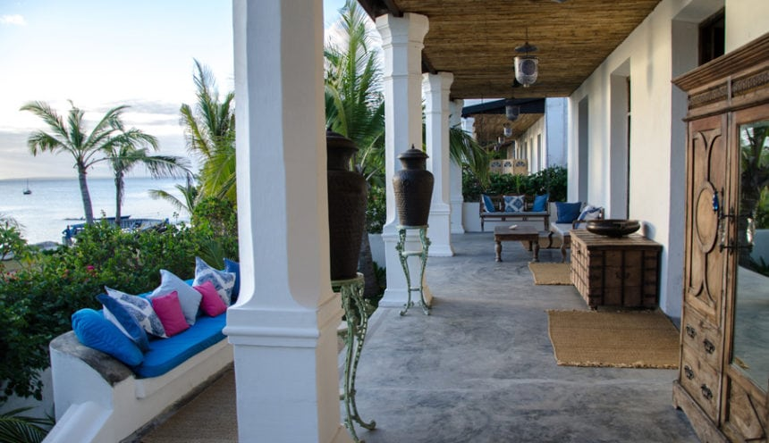 Ibo Island 009 Veranda front view Bela Vista