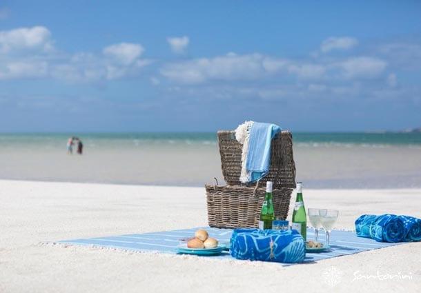 santorini 03 picnic on the beach 1