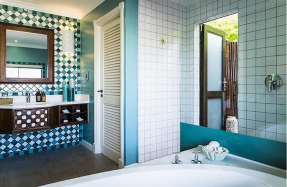Anantara Medjumbe 004 Villa Bathroom