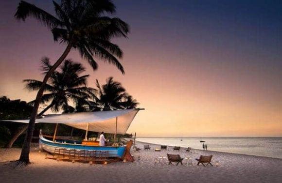 AndBeyond Benguerra Beach Restaurant