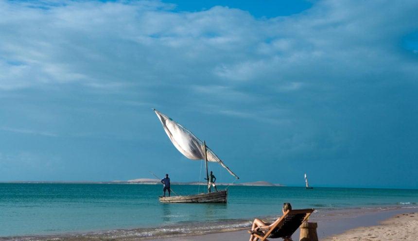 Azura Benguerra 009 Deckchair in sand