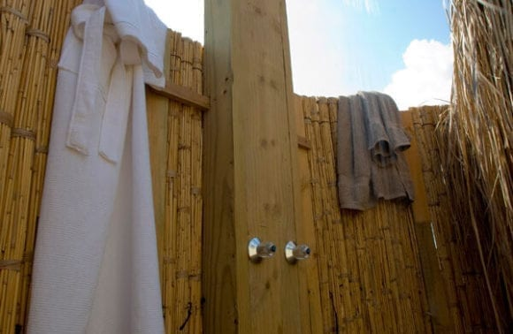 Dugong Beach Lodge Outdoor Shower1