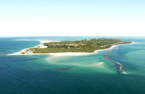 Magaruque Island 003 Island Aerial View
