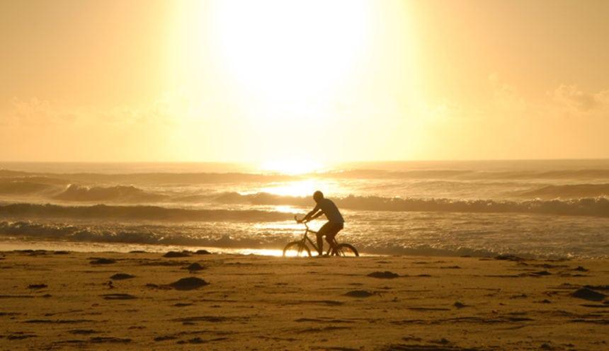 Massinga Beach 004 Beach Cycling