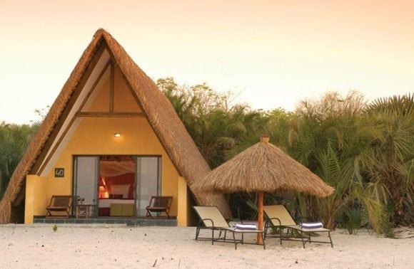 Pestana Bazaruto Lodge 013 Room exterior loungers