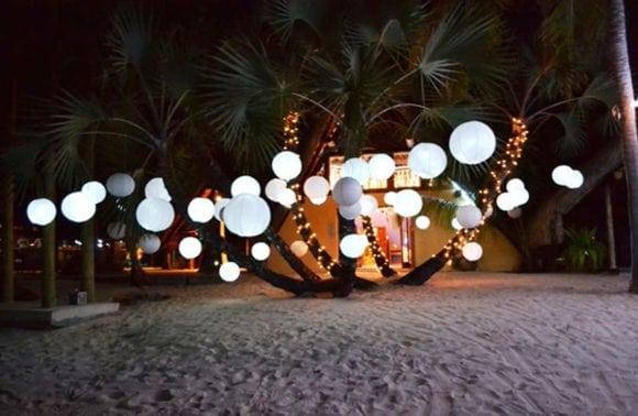 Pestana Bazaruto Lodge 014 Lanterns at night