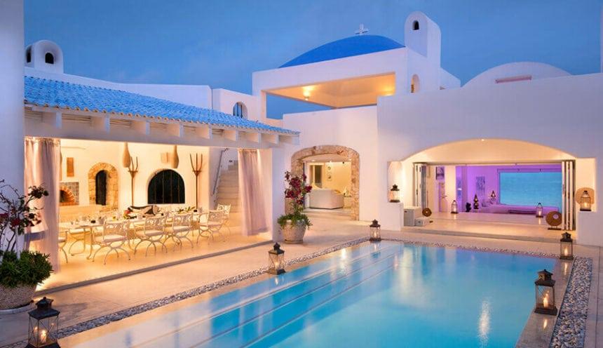 Villa Santorini 003 and Dining Area