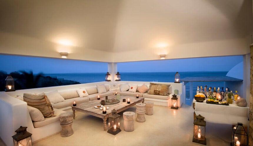 Villa Santorini 022 Outside Lounge