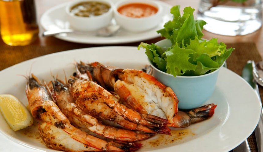 White Pearl 005 Mouth watering Mozambican prawns