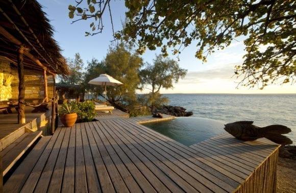 villa quilalea deck