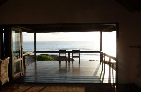 Blue Footprints Honeymoon 003 Sea view from the deck