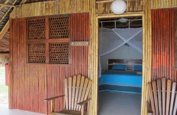 Situ island resorts Accomodation 001 Sea to bedroom