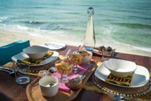 Coral Lodge breakfast