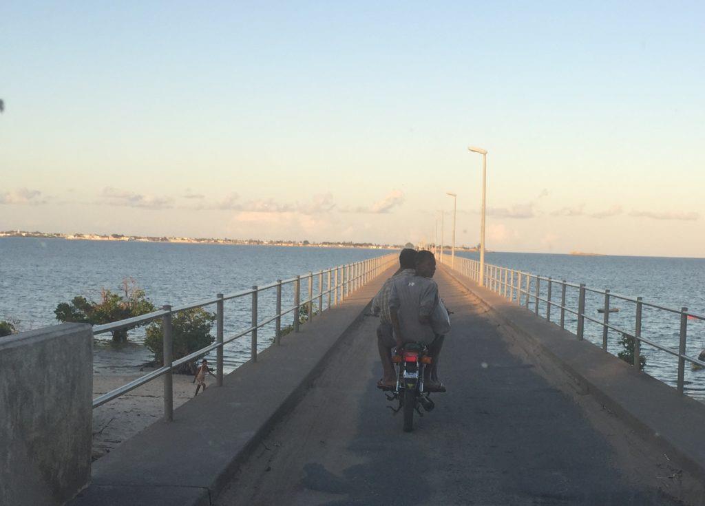 The Bridge to Ilha de Moçambique