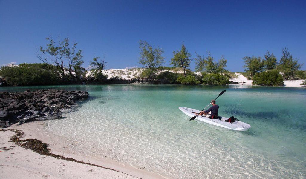 Kayaking Coral Lodge