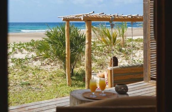Luxury Beach Villa terrace view 1