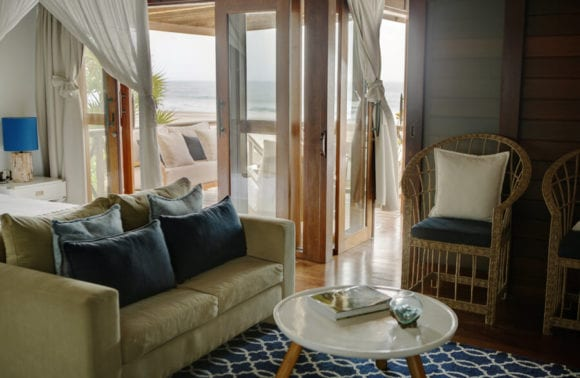 Sentidos Beach Retreat Family Beach Villa living room