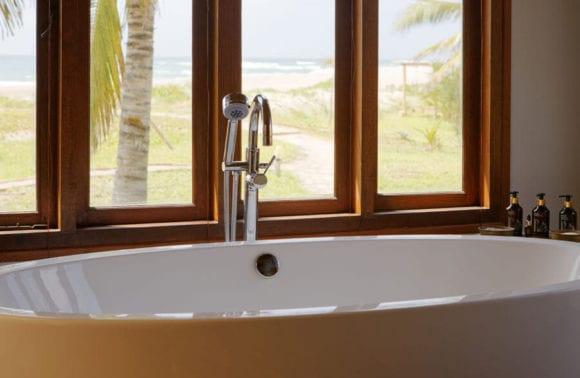 Sentidos Double Beach Villa Bath