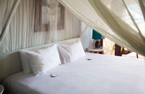 Sentidos Double Beach Villa Bedroom