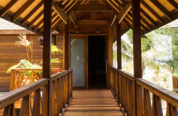 Sentidos Double Beach Villa Entrance