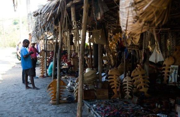 Sentidos markets inhambane Stalls