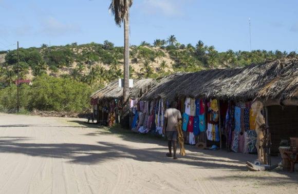 Sentidos markets inhambane Street