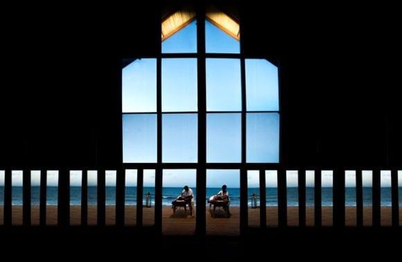 Sentidos massage beach