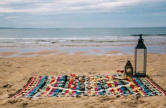 Sentidos picnic beach