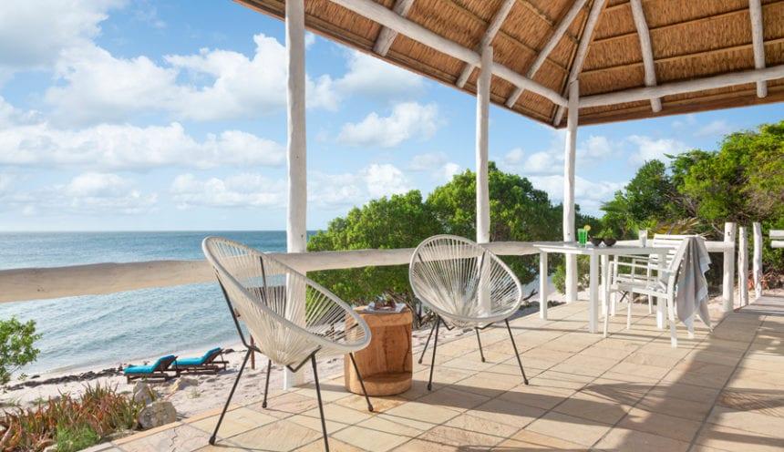 Azura Marlin Beach Villa Beach Deck