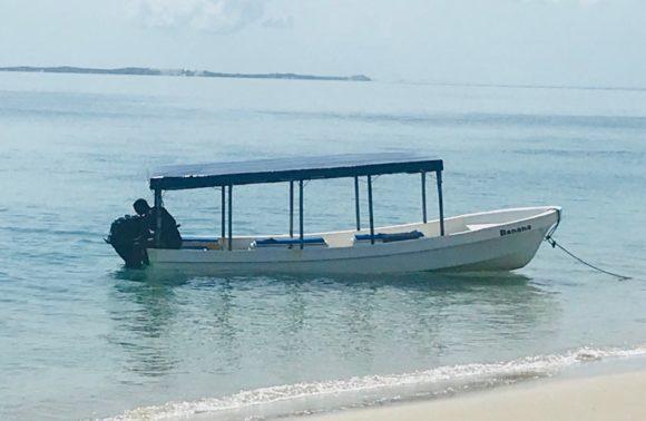 Azulik boat